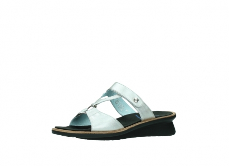 wolky slippers 3307 isa 919 parelwit metallic leer_23