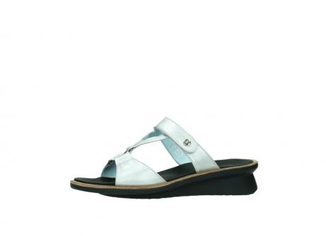 wolky slippers 3307 isa 919 parelwit metallic leer_24