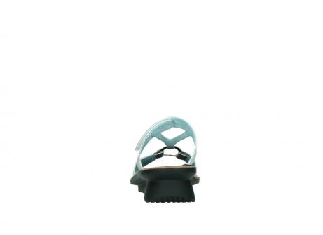 wolky slippers 3307 isa 919 parelwit metallic leer_7