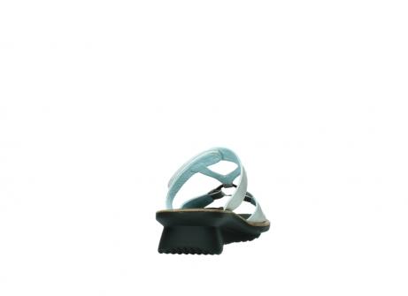 wolky slippers 3307 isa 919 parelwit metallic leer_8