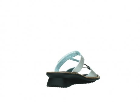 wolky slippers 3307 isa 919 parelwit metallic leer_9