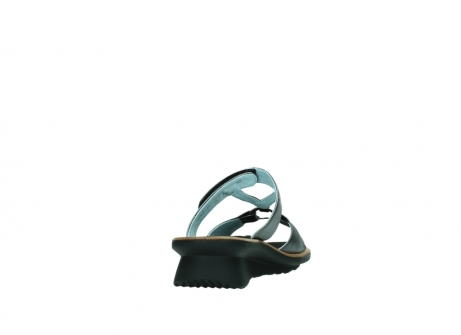 wolky pantoletten 3307 isa 928 grau metallic leder_8