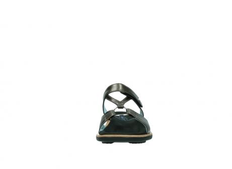 wolky pantoletten 3307 isa 933 kupfer metallic leder_19