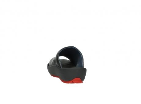 wolky slippers 3326 havana 200 zwart leer_6