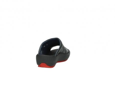 wolky slippers 3326 havana 200 zwart leer_8