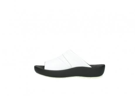 wolky slippers 3326 havana 210 wit leer_1