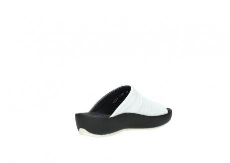 wolky slippers 3326 havana 210 wit leer_10