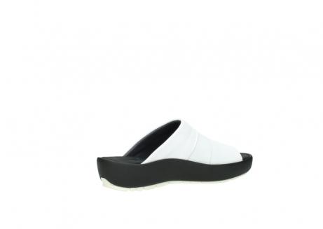 wolky slippers 3326 havana 210 wit leer_11