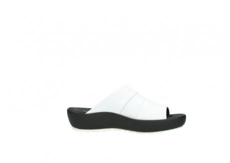 wolky slippers 3326 havana 210 wit leer_14