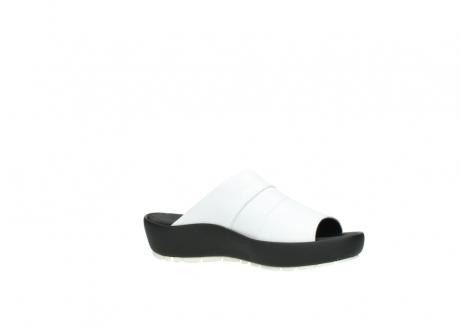 wolky slippers 3326 havana 210 wit leer_15