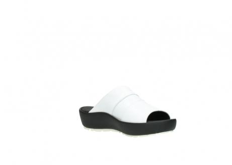 wolky slippers 3326 havana 210 wit leer_16