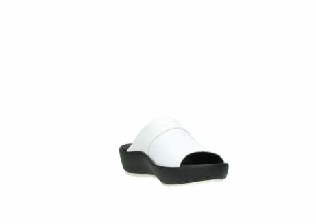 wolky slippers 3326 havana 210 wit leer_17