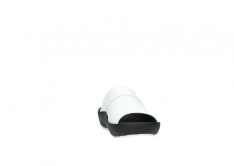 wolky slippers 3326 havana 210 wit leer_18