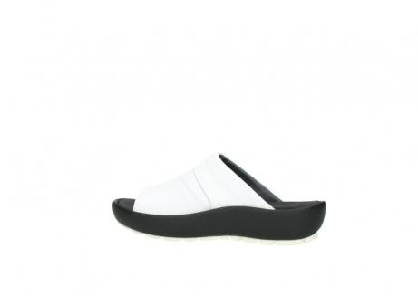 wolky slippers 3326 havana 210 wit leer_2