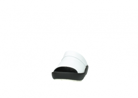 wolky slippers 3326 havana 210 wit leer_20