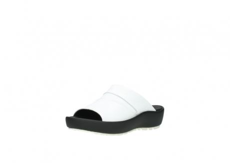 wolky slippers 3326 havana 210 wit leer_22