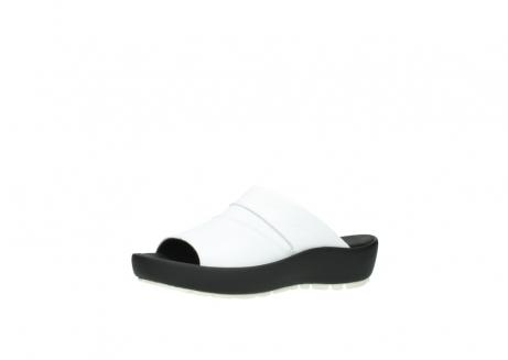 wolky slippers 3326 havana 210 wit leer_23