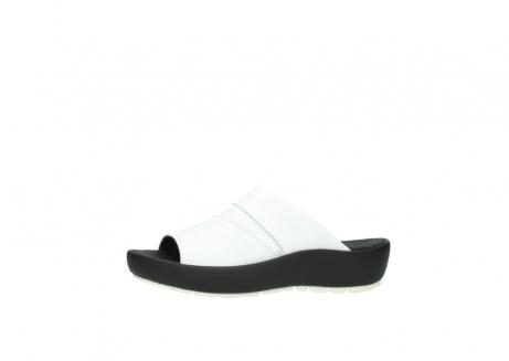 wolky slippers 3326 havana 210 wit leer_24