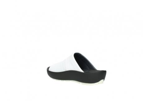 wolky slippers 3326 havana 210 wit leer_4