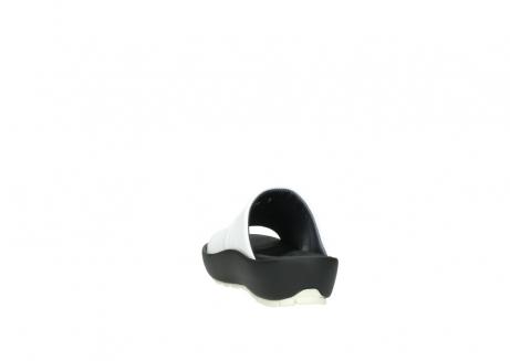 wolky slippers 3326 havana 210 wit leer_6