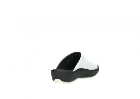 wolky slippers 3326 havana 210 wit leer_9