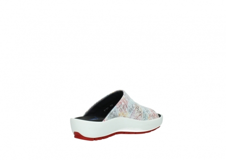 wolky slippers 3326 havana 798 wit multi color canal leer_10