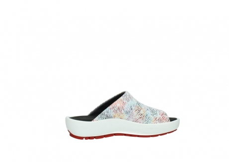 wolky slippers 3326 havana 798 wit multi color canal leer_12