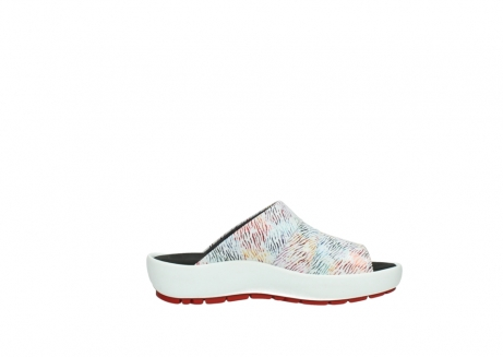 wolky slippers 3326 havana 798 wit multi color canal leer_13