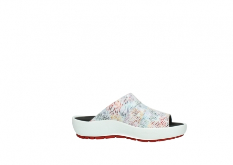wolky slippers 3326 havana 798 wit multi color canal leer_14