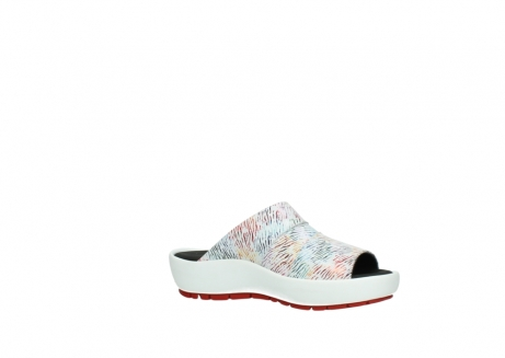wolky slippers 3326 havana 798 wit multi color canal leer_15