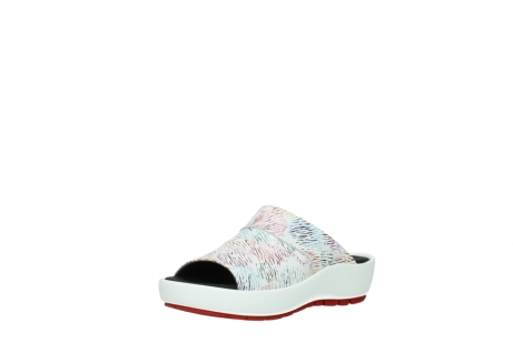 wolky slippers 3326 havana 798 wit multi color canal leer_22