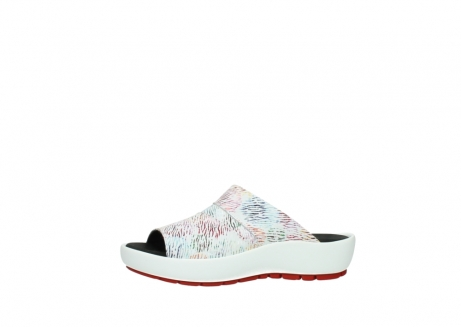 wolky slippers 3326 havana 798 wit multi color canal leer_24