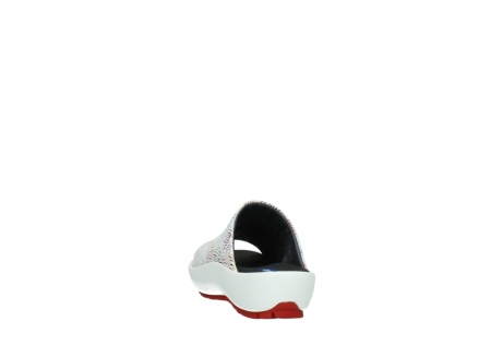 wolky slippers 3326 havana 798 wit multi color canal leer_6