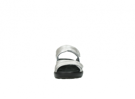 wolky slippers 3472 bago 919 parelwit metallic leer_19