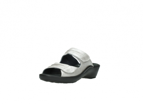 wolky slippers 3472 bago 919 parelwit metallic leer_22