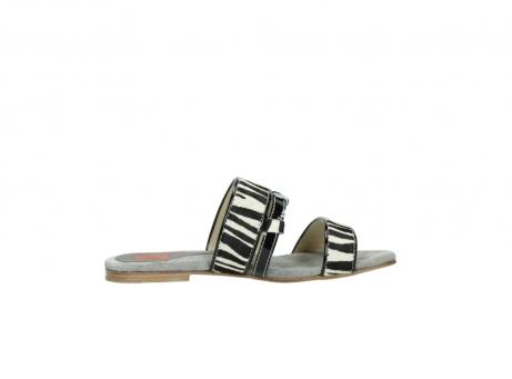 wolky pantoletten 4645 miami 500 zebra print leder_13