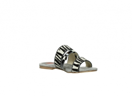 wolky pantoletten 4645 miami 500 zebra print leder_16