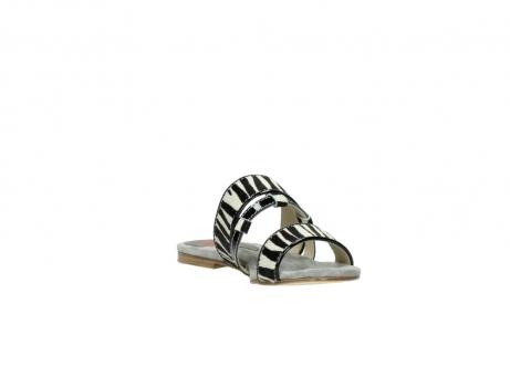 wolky pantoletten 4645 miami 500 zebra print leder_17