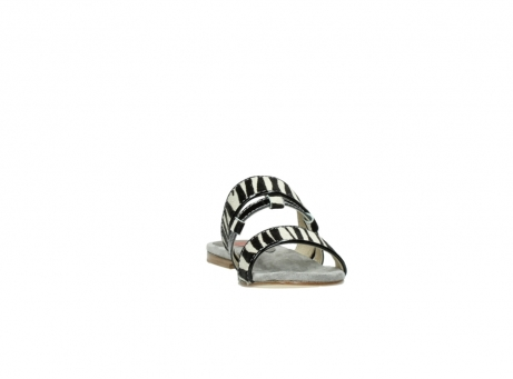 wolky pantoletten 4645 miami 500 zebra print leder_18