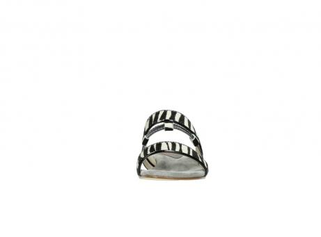 wolky pantoletten 4645 miami 500 zebra print leder_19
