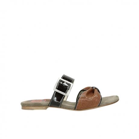 wolky slippers 4646 palm beach 643 cognac leer