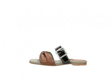 wolky slippers 4646 palm beach 643 cognac leer_1