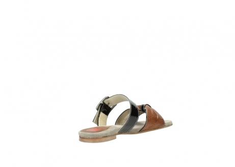 wolky slippers 4646 palm beach 643 cognac leer_10