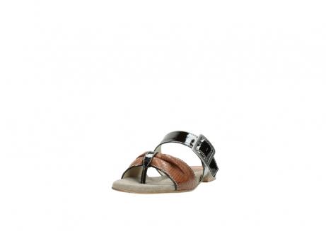 wolky slippers 4646 palm beach 643 cognac leer_21