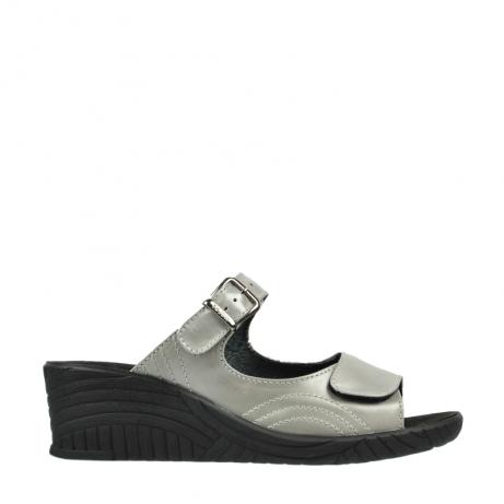 wolky slippers 4677 negara 611 ivoor leer