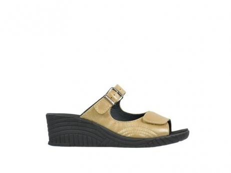 wolky slippers 4677 negara 632 brons leer