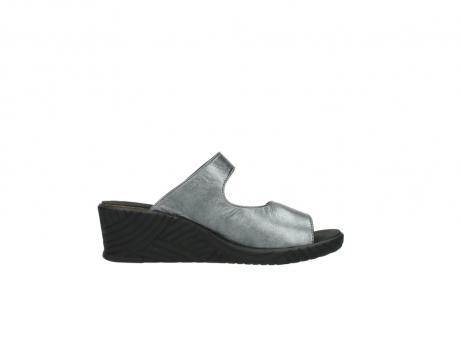 wolky slippers 4678 arenal 928 grijs metallic leer_13