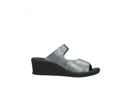 wolky slippers 4678 arenal 928 grijs metallic leer_14