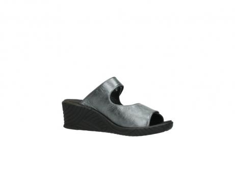 wolky slippers 4678 arenal 928 grijs metallic leer_15