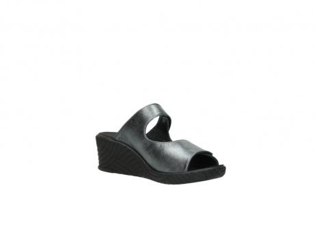 wolky slippers 4678 arenal 928 grijs metallic leer_16